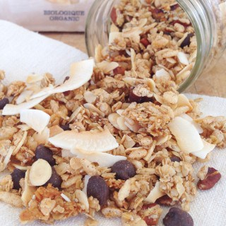 Clean-eating Coconut Chip Granola