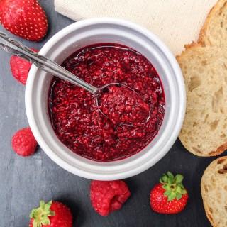 Raspberry Chia Seed Jam