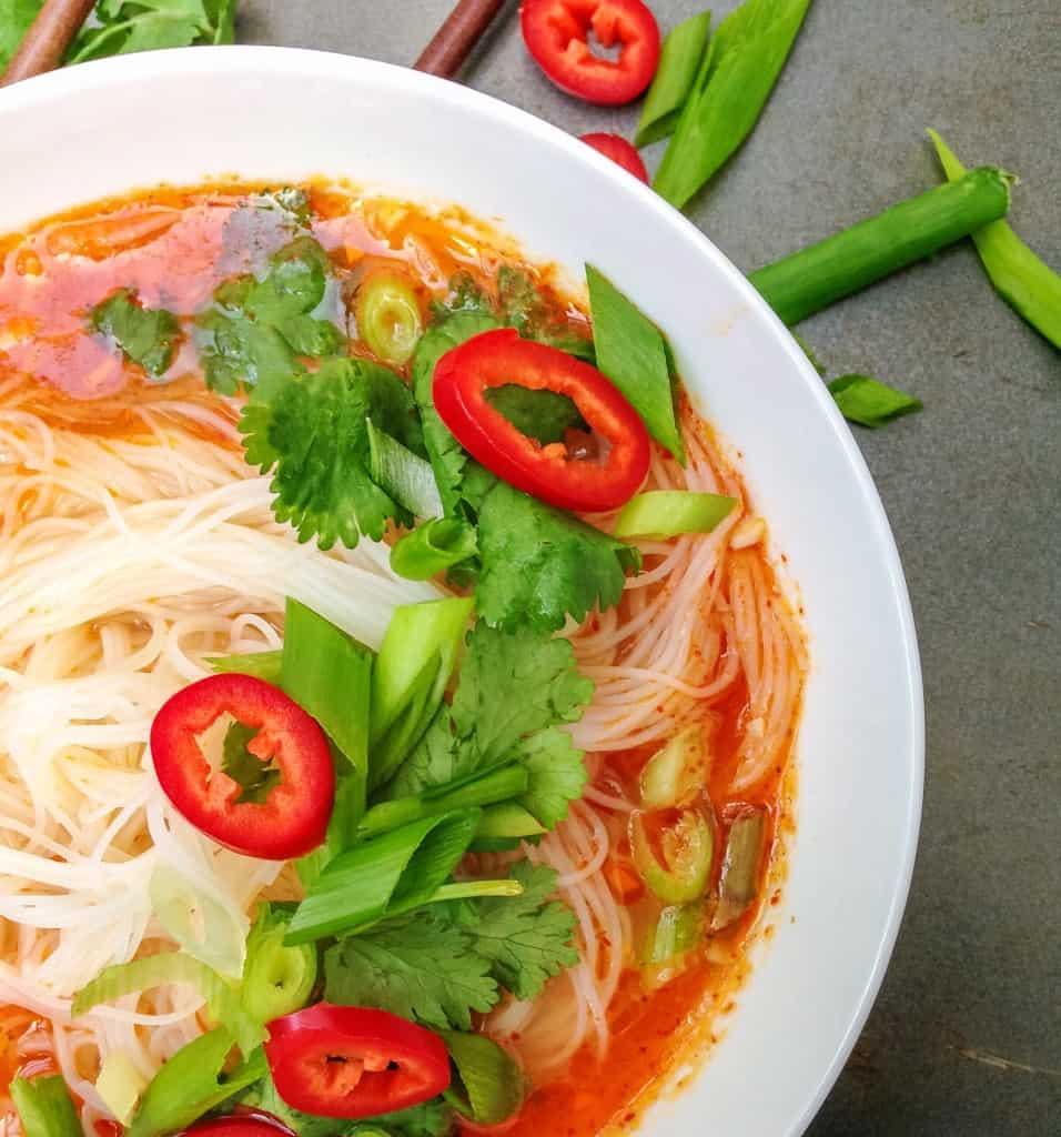 Thai Red Curry Soup - Choosingchia