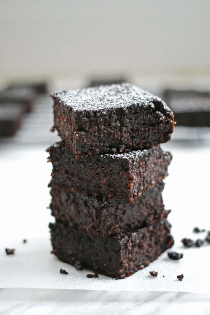 healthy quinoa brownies
