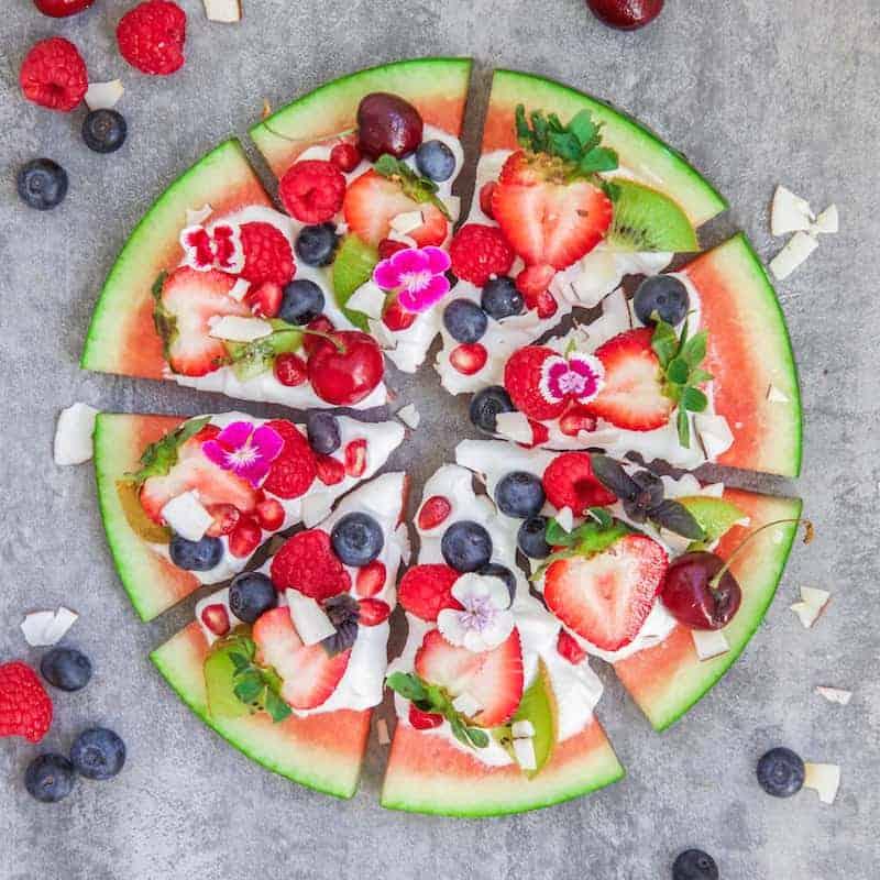 Resultado de imagem para watermelon pizza greek
