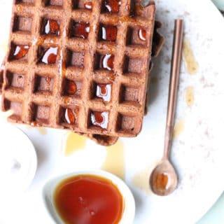 chai spiced waffles
