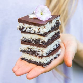 no bake chocolate coconut brownies