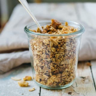 fig and walnut granola