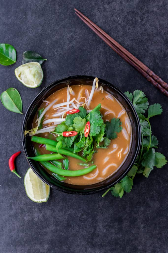 easy tom yum soup