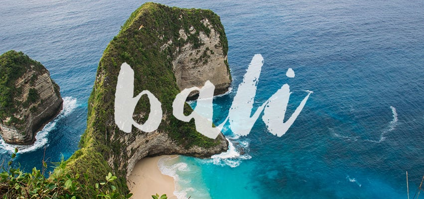 Bali travel header image