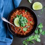 sprouted lentil chipotle chili 2