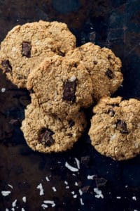 chocolate chunk peanut butter oatmeal cookies