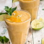 papaya mojito smoothie