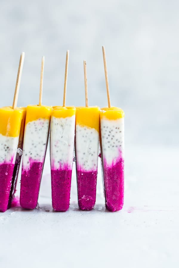 tropical coconut chia pops