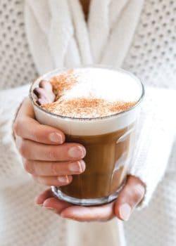 adaptogenic gingerbread latte