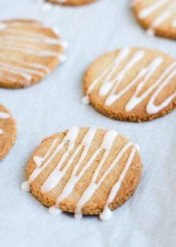 grain-free orange cardamom cookies
