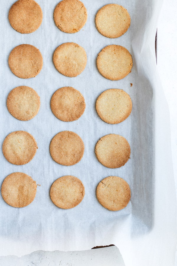 grain-free orange cardamom cookies