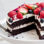 blender chocolate quinoa cake