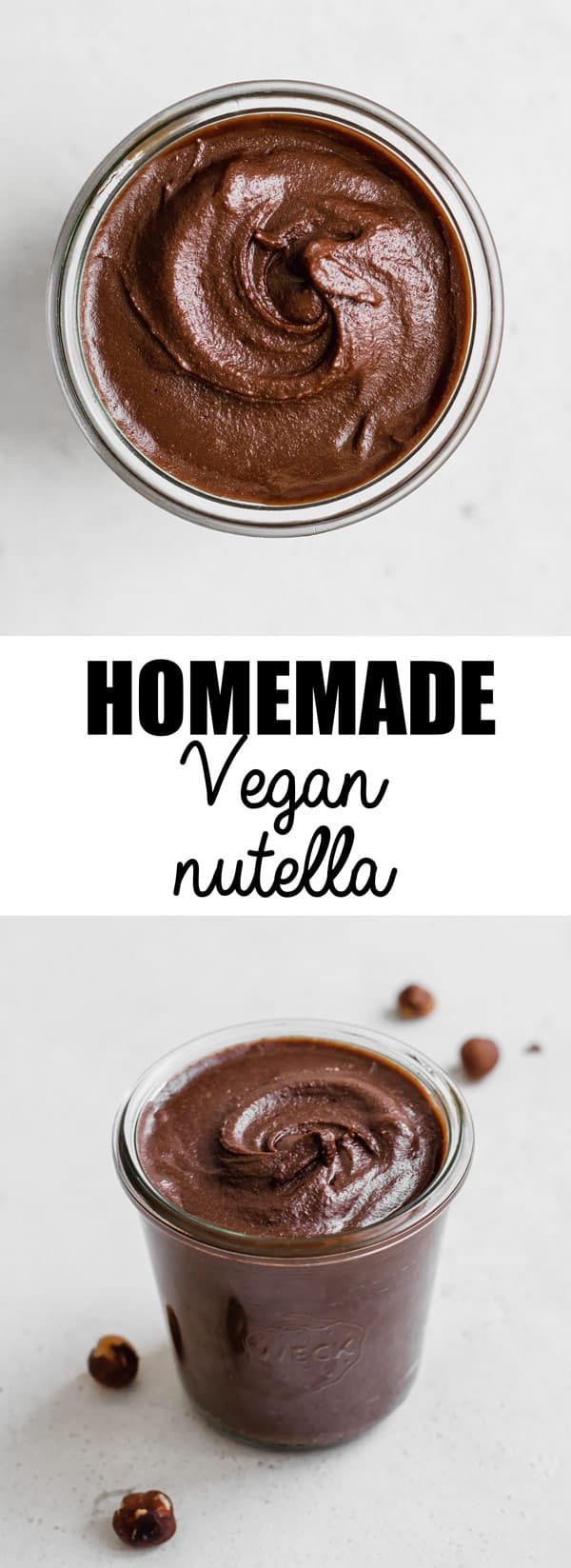 Homemade vegan nutella - Choosingchia