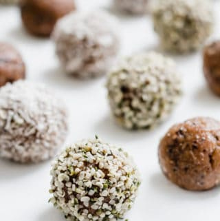No-bake almond butter energy bites