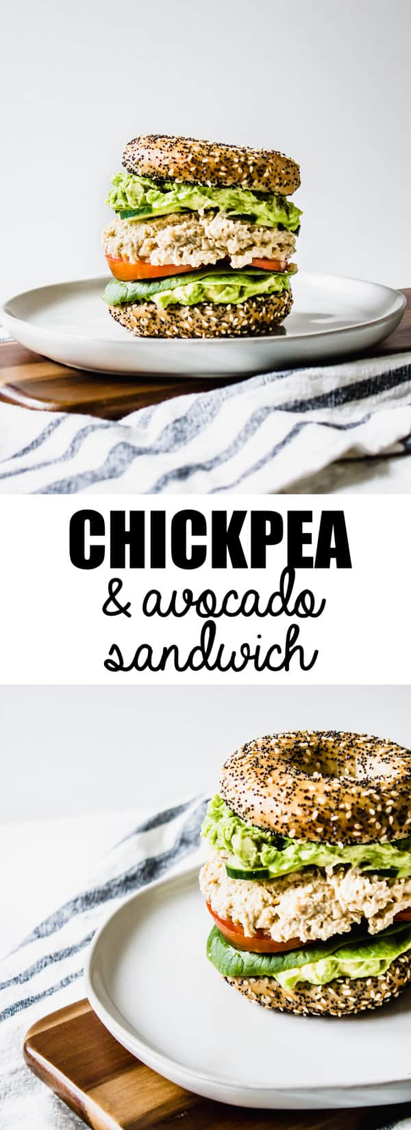 This smashed chickpea and avocado sandwich is a healthy vegan gluten-free sandwich that is so easy to make!