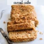 vegan aloha carrot cake