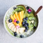 superfood green smoothie bowl