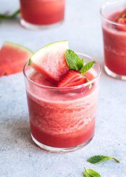 watermelon mojito frosé