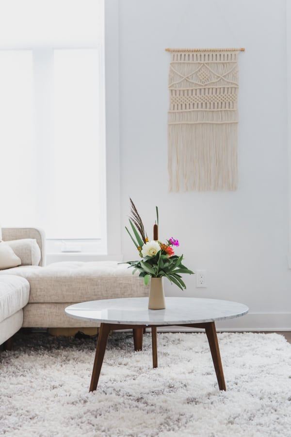 7 ways to create a zen living space & living room reveal ...