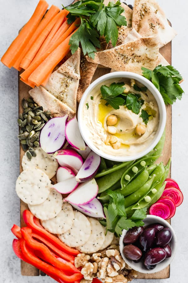 the best healthy hummus