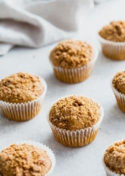 vegan coffee cake streusel muffins