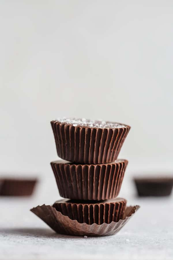 chocolate pumpkin butter cups