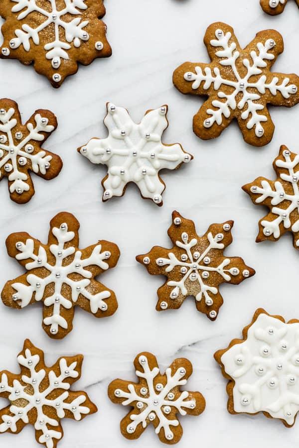 healthier easy gingerbread cookies