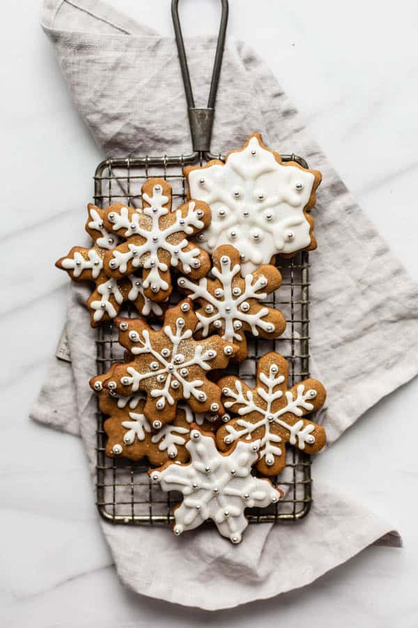 healthier easy gingerbread cookies