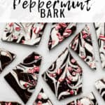 marbled peppermint bark