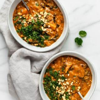 West African peanut stew [vegan & gluten-free]