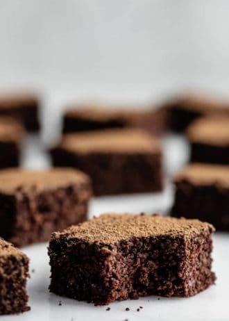 healthy quinoa brownies