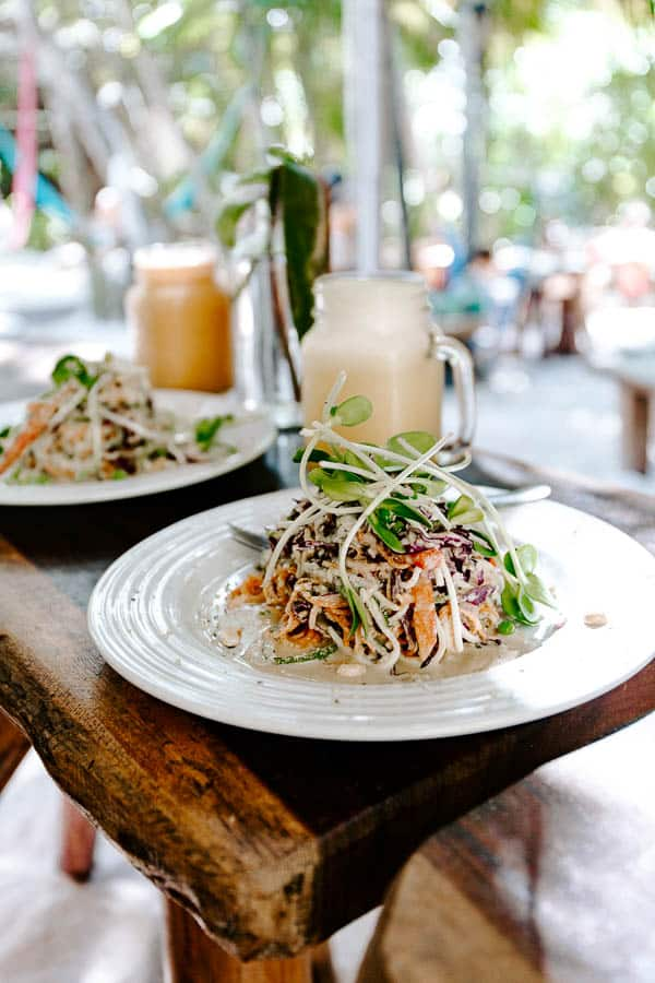 raw love raw vegan pad thai