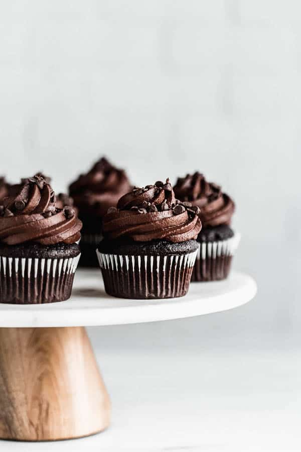 Vegan Triple Chocolate Cupcakes Choosing Chia
