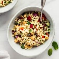 Israeli Couscous Salad Choosing Chia
