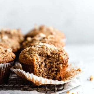 easy banana nut muffins