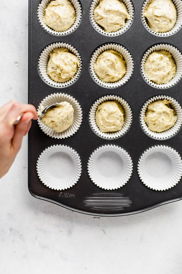 healthy lemon poppy seed muffins