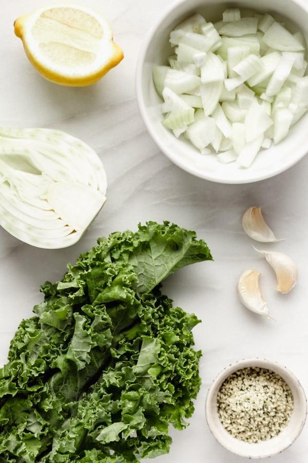 ingredients for detox soup