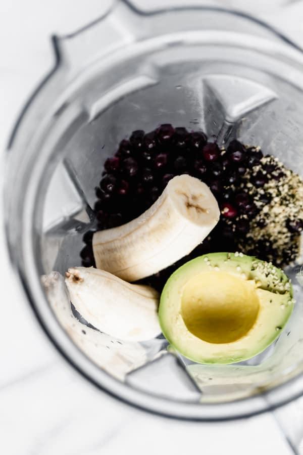 how to make an avocado smoothie