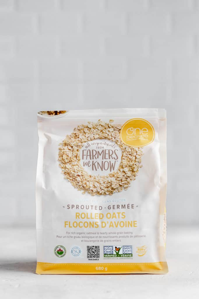 a bag of one degree organics rolled oats