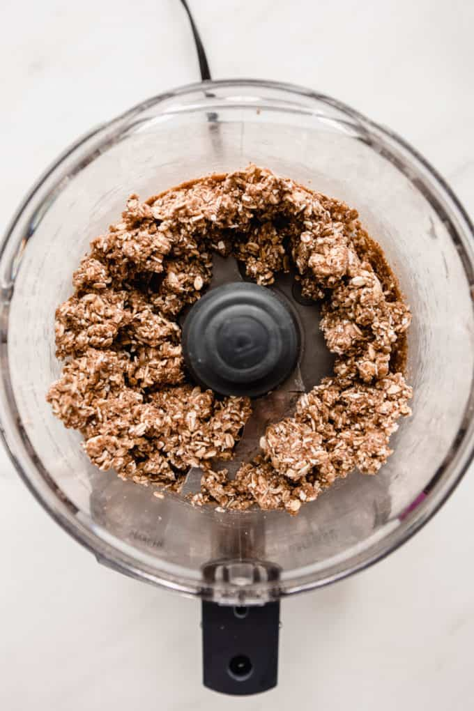 crisp topping in a food processor